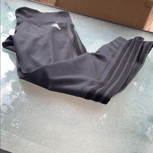Adidas right leggins Grey Large Hi waisted